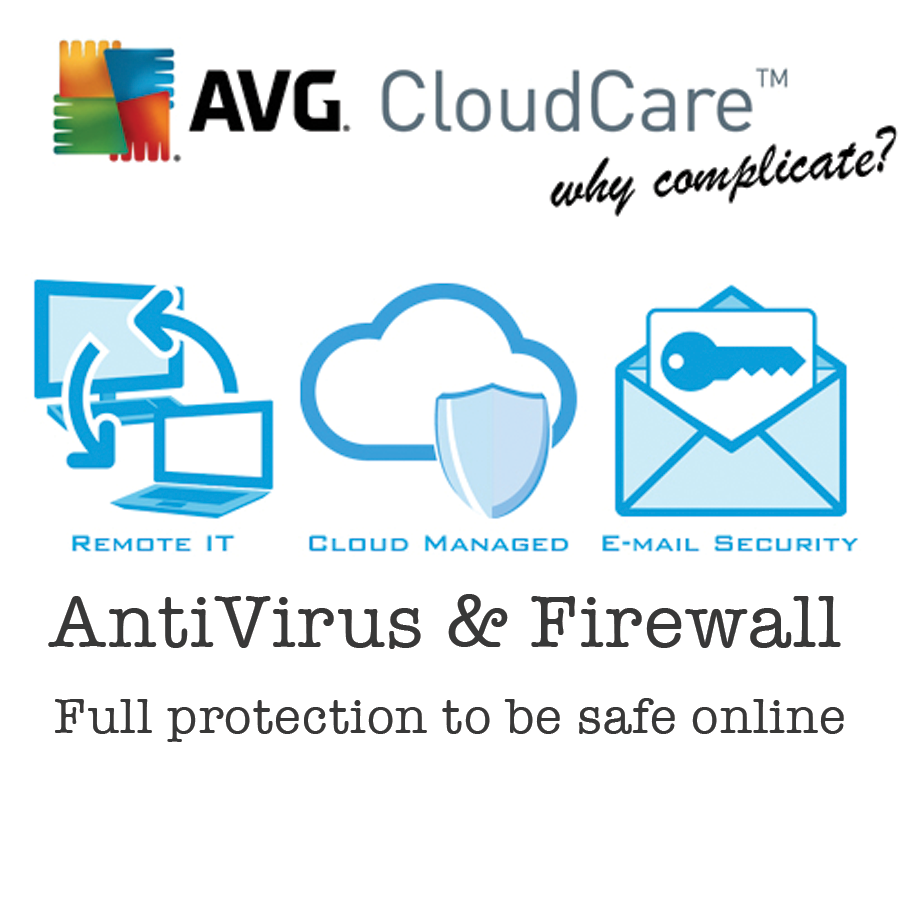 AVG Cloudcare Network IT Cloud Anti Virus Solutions